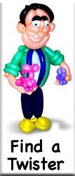 Find a local balloon twister/entertainer
